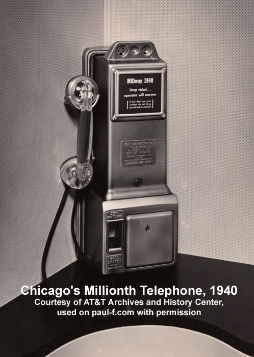 Chicago's Millionth Phone
