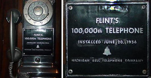 Flint MI - 100,000 Telephone