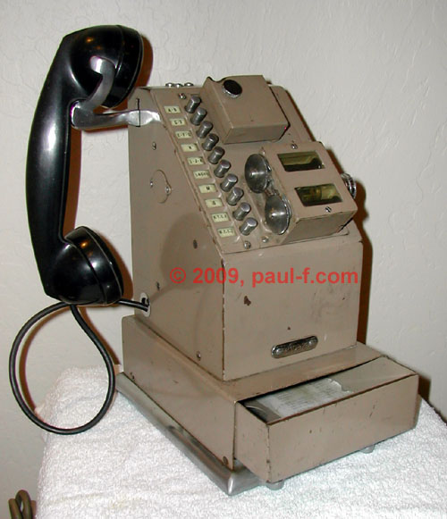 NCR Stamping Phone, 10-button