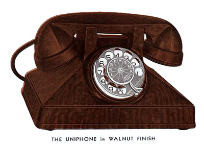 Uniphone No.1 with N14 dial
