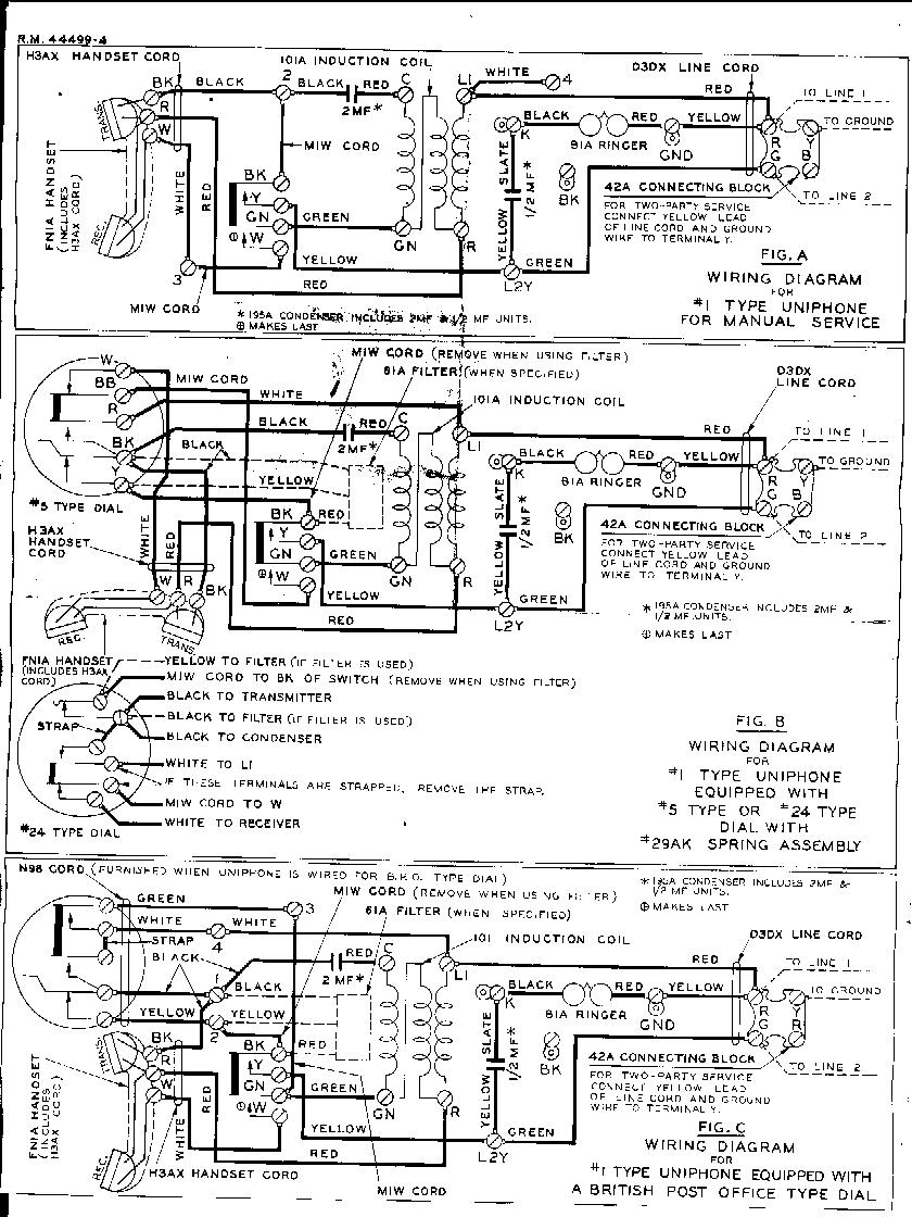 dial desk telephones check out the wiring diagram