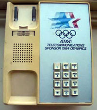 Olympics 1984 - based on Touch-a-matic housing
