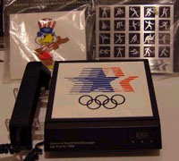 Olympics 84, with three interchangeable plaques