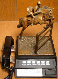Olympics 84, Equestrian event statue
