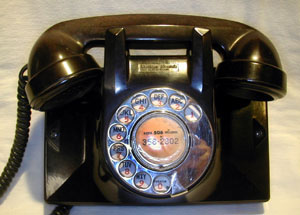 Northern Electric Uniphone No. 2 - brown
