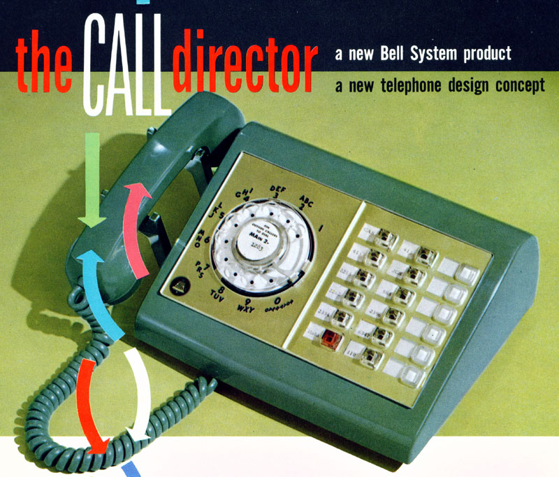 WE 600 Call Director (from Marketing Broshure)