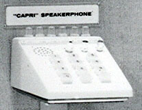 Capri Speakerphone Keyset