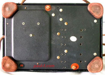 1948 pushbutton set bottom plate