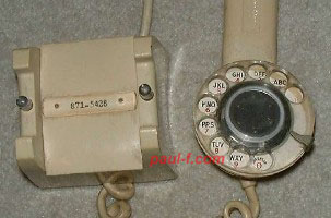 WE F-52578 - handset with dial